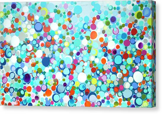 Canvas Print - Family Of Fireflies by Claire Desjardins