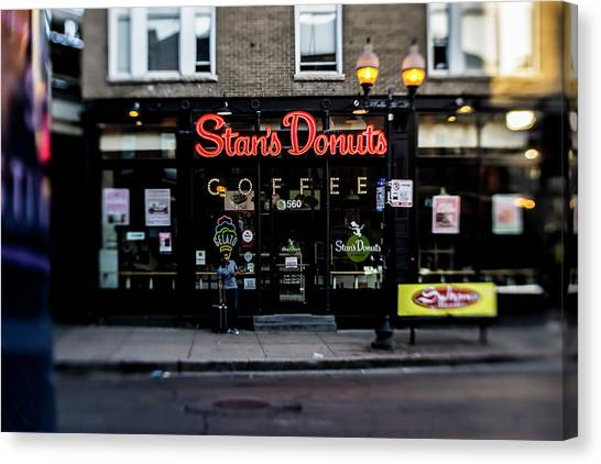 Famous Chicago Donut Shop Canvas Print