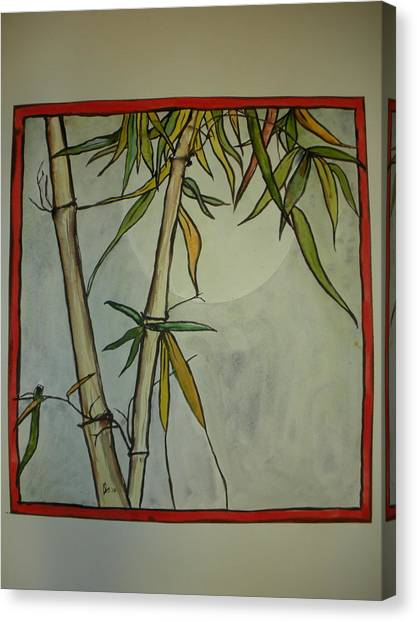 Fanciful Bamboo Canvas Print
