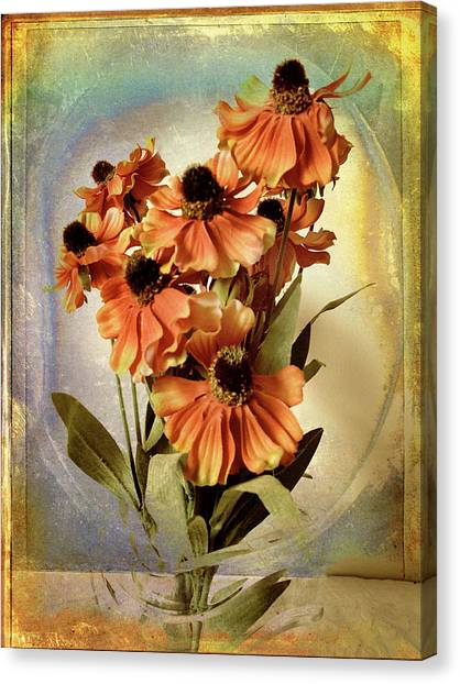 Fanciful Canvas Print - Fanciful Floral by Jessica Jenney