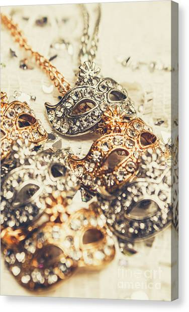 Mardi Gras Canvas Print - Fancy Dress Timepieces by Jorgo Photography - Wall Art Gallery
