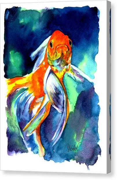 Fancy Goldfish Canvas Print