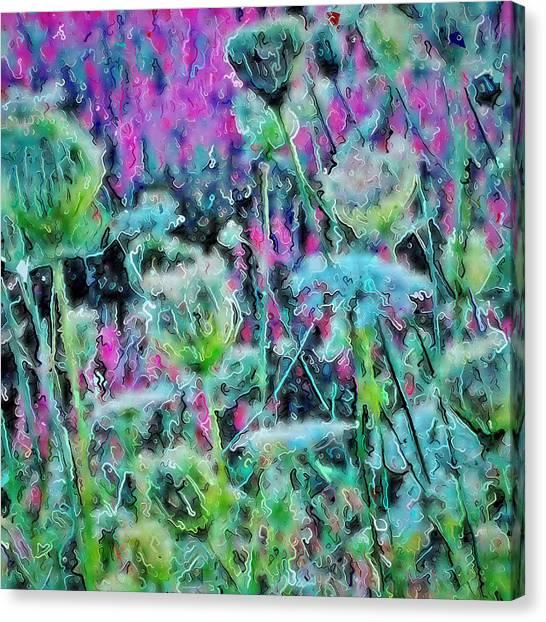 Canvas Print - Fancy Wildflowers by Modern Art
