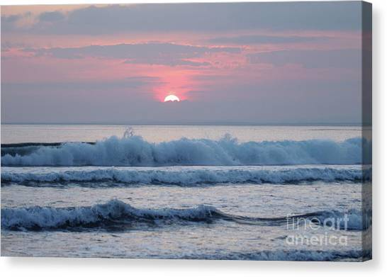 Fanore Sunset 1 Canvas Print