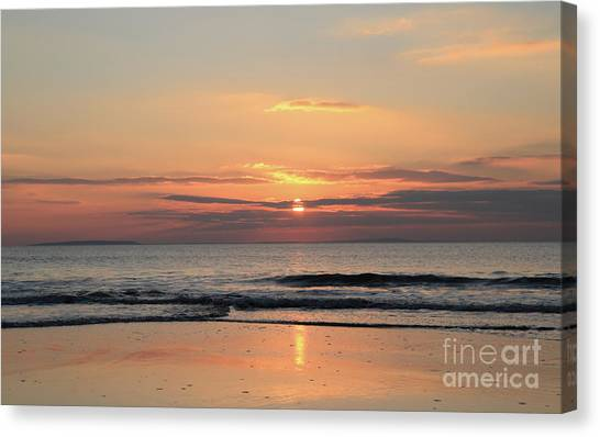 Fanore Sunset 3 Canvas Print
