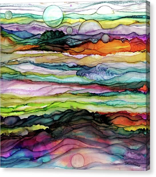 Fantascape Canvas Print