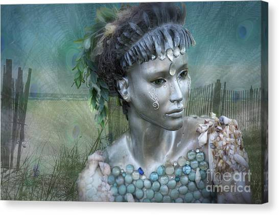 Mermaiden Fantasea Canvas Print