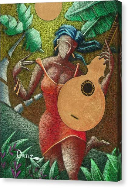 Fantasia Boricua Canvas Print