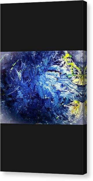 Fantasy Cave Canvas Print - Fantasy 3 by Rick Reesman