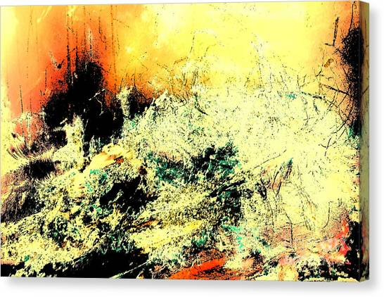 Fantasy Abstract Created Artwork    Canvas Print