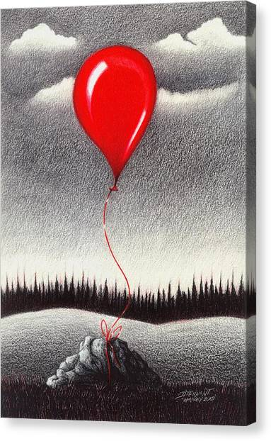 Fantasy And Reality Canvas Print