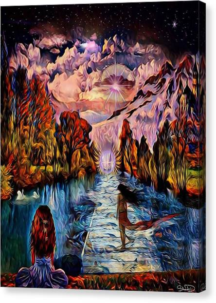 Fantasy Dream Canvas Print