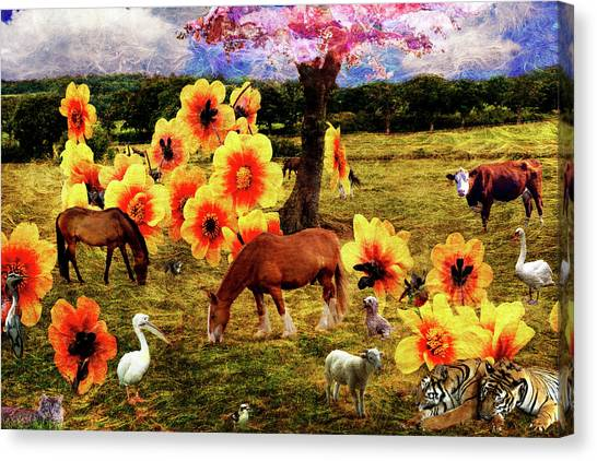Fantasy Farm Canvas Print