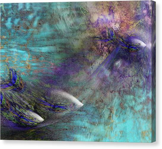 Fantasy Fish Canvas Print by Gae Helton