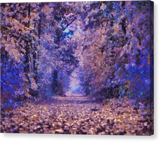 Woodland Canvas Print - Fantasy Forest by Isabella Howard