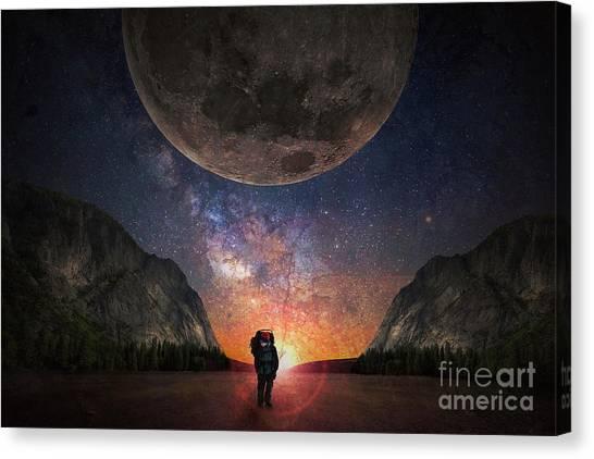 Fantasy Hike Canvas Print