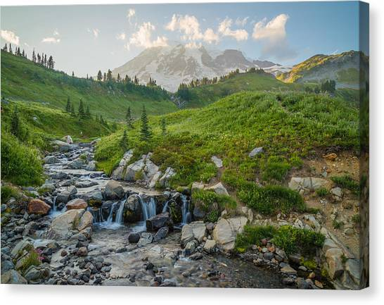 Contour Canvas Print - Fantasy Land by Kristopher Schoenleber
