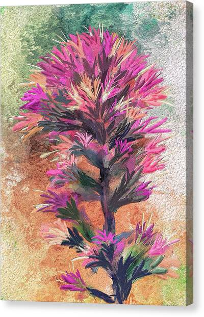 Fantasy Paintbrush Canvas Print