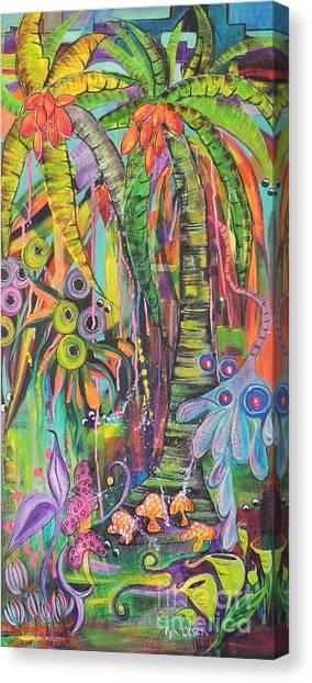 Fantasy Rainforest Canvas Print