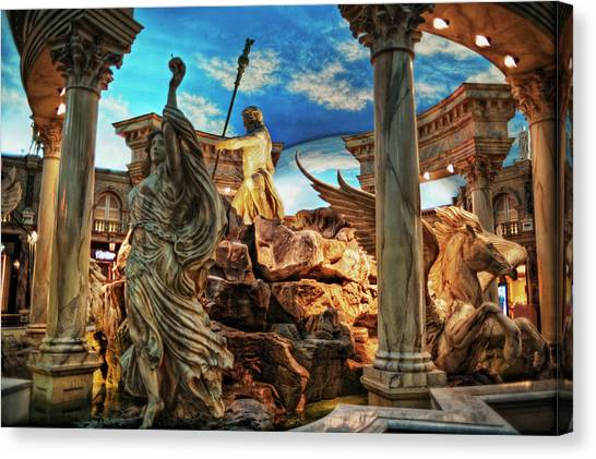 Fantasy Canvas Print by Stephen Campbell
