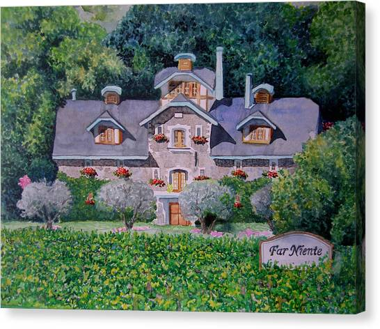 Far Niente Winery Canvas Print