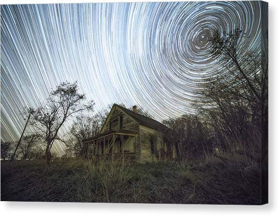 Vertigo Canvas Print - Far Out by Aaron J Groen