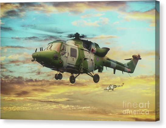 Aac Canvas Print - Farewell To The Lynx by J Biggadike