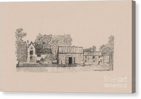 Farm Dwellings Canvas Print