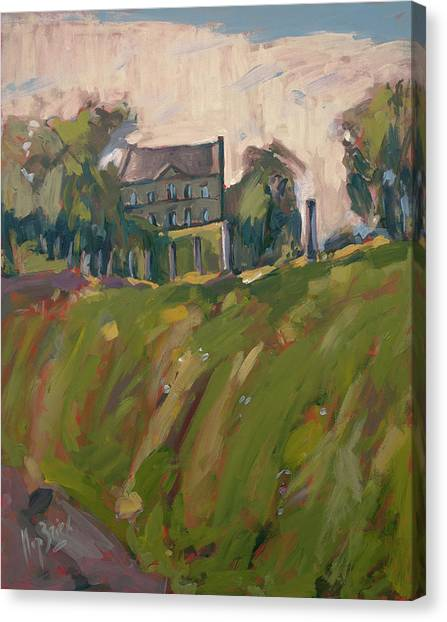 Briex Canvas Print - Farm Estate Zonneberg by Nop Briex