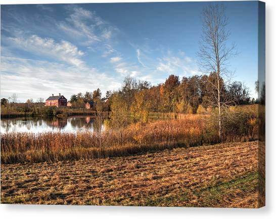 Farm Fall Colors Canvas Print