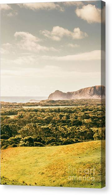 North Shore Canvas Print - Farm Fields To Seaside Shores by Jorgo Photography - Wall Art Gallery