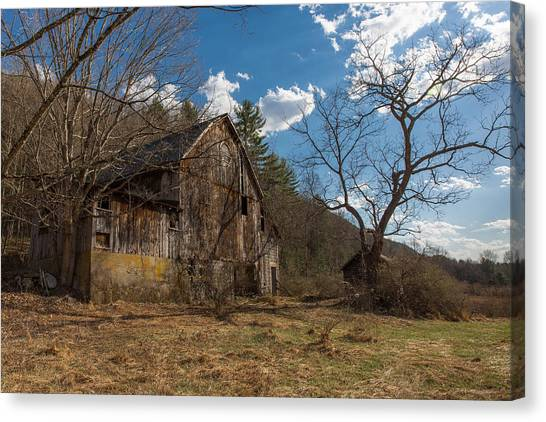 Farm Forgotten Canvas Print