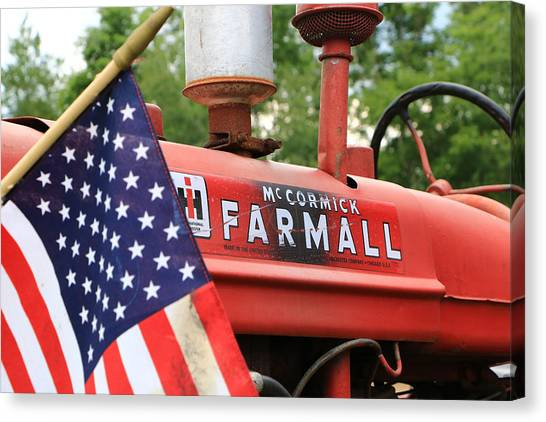 Farmall 2 Canvas Print