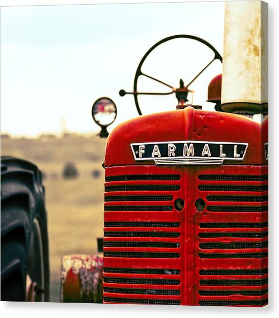 Tractor Canvas Print - Farmall by Humboldt Street