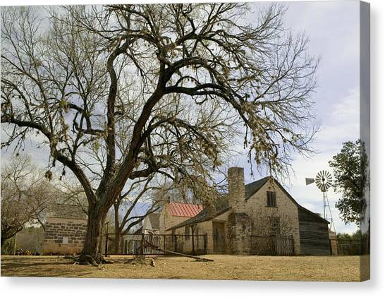 Lyndon Johnson Canvas Print - Farmhouse On A Landscape, Living by Panoramic Images
