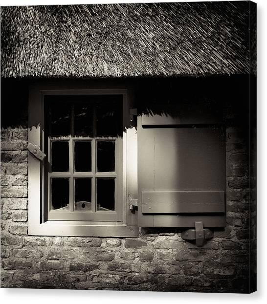 Farmhouse Window Canvas Print