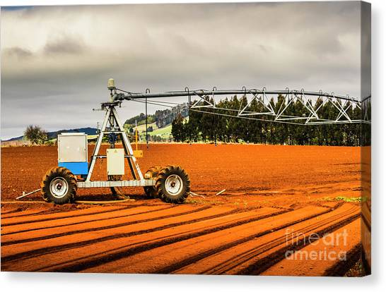 Machinery Canvas Print - Farming Field Equipment by Jorgo Photography - Wall Art Gallery