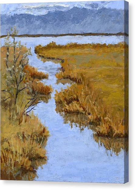 Farmington Bay Marsh Canvas Print