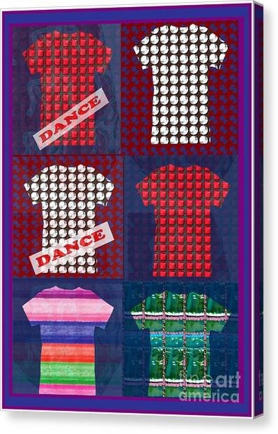Images For Publishing Canvas Print - Fashion Couture Experts Designers Textures Beads Jewels T-shirt Show Buy Wall Art Interior Decoratio by Navin Joshi