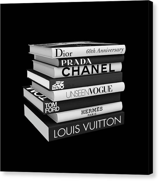 Chanel Canvas Print - Fashion Or Fiction by Tres Chic