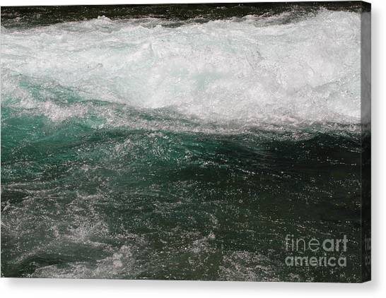 Fast Water Canvas Print