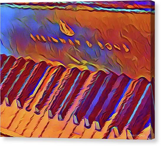 Fat Domino's Piano Canvas Print