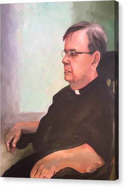 Father Ed Canvas Print
