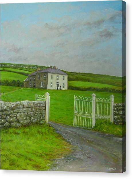 Father Ted Canvas Print by Eamon Doyle