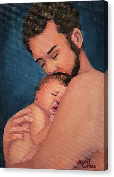 Fatherhood Canvas Print