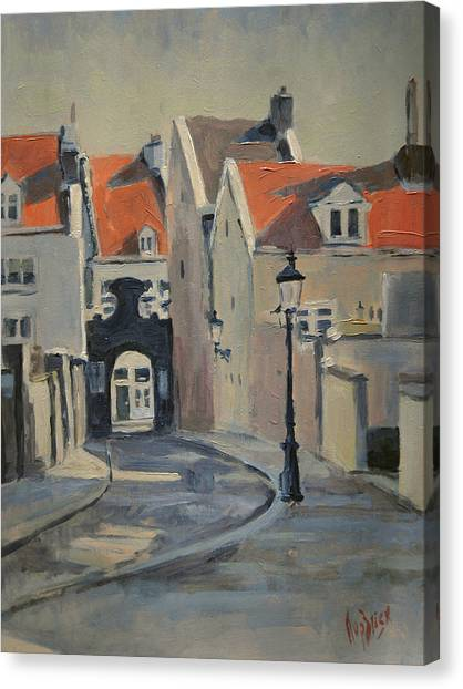 Canvas Print - Fathers Gate Maastricht by Nop Briex