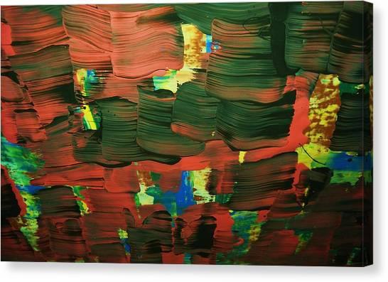 ..favella.-series.... Canvas Print by Adolfo hector Penas alvarado
