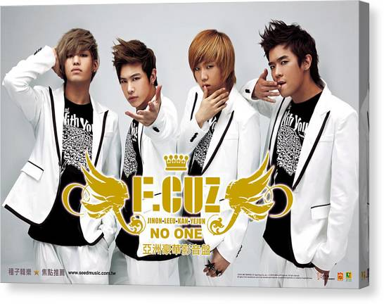 Golfers Canvas Print - F.cuz by Super Lovely