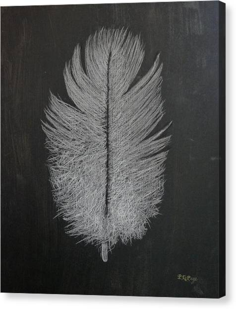 Feather 1 Canvas Print