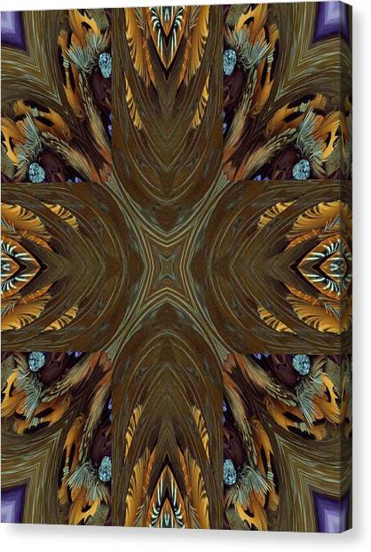Feather Grace Canvas Print by Ricky Kendall